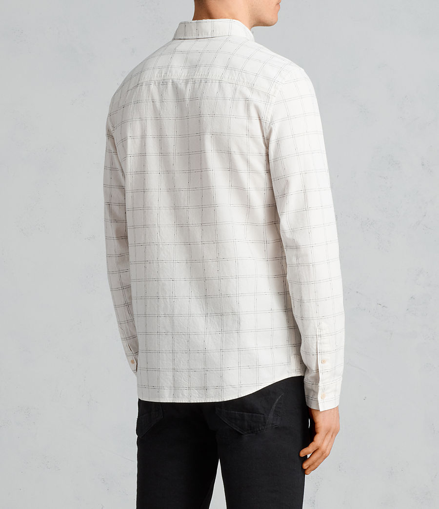 Men's Rowhill Shirt (chalk_white) - Image 4