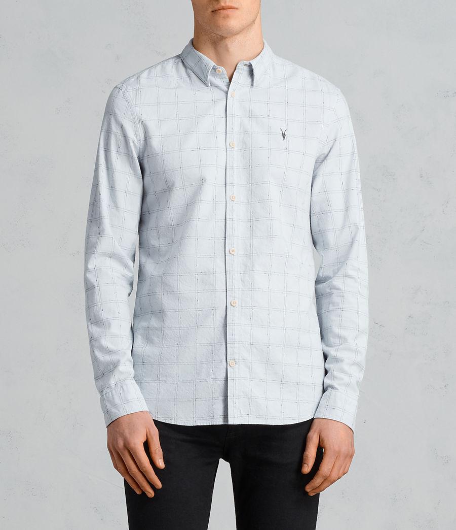 Mens Rowhill Shirt (celest_blue) - Image 1