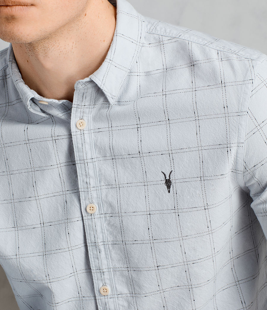 Men's Rowhill Shirt (celest_blue) - Image 2
