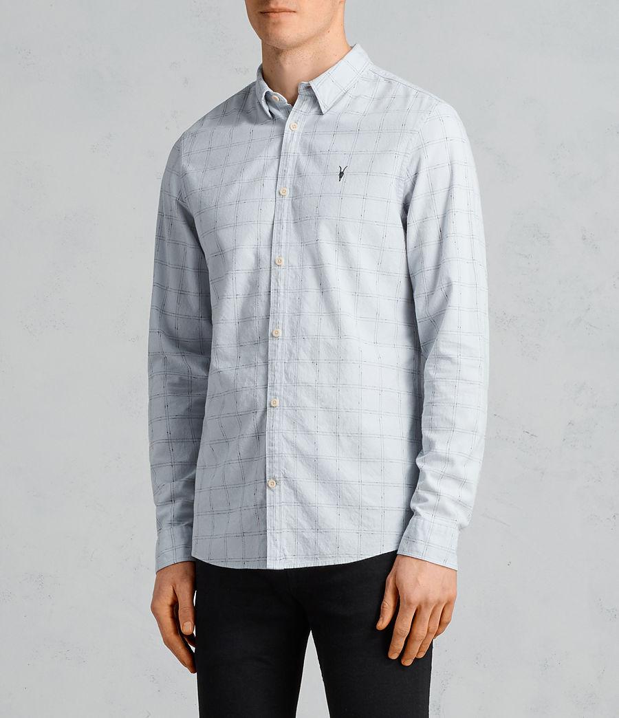 Men's Rowhill Shirt (celest_blue) - Image 3