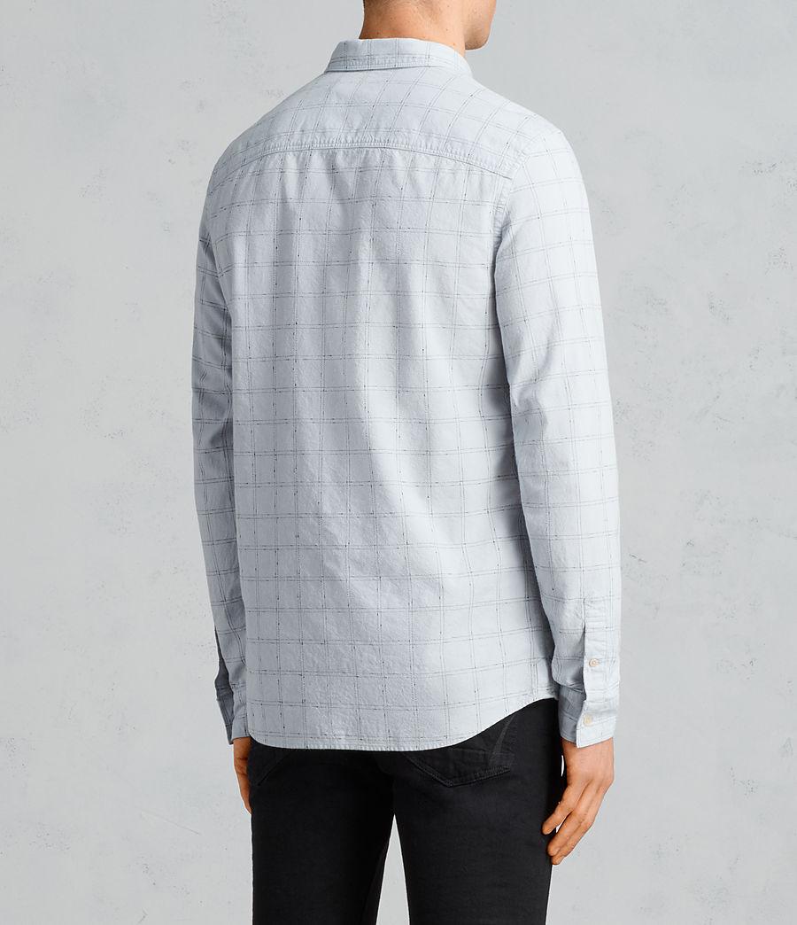 Men's Rowhill Shirt (celest_blue) - Image 4