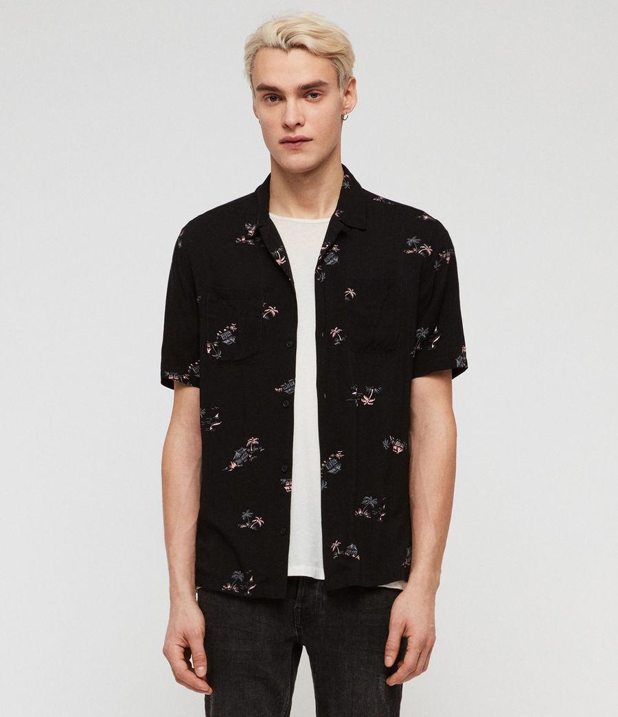 Mens Castaway Shirt (jet_black) - Image 1