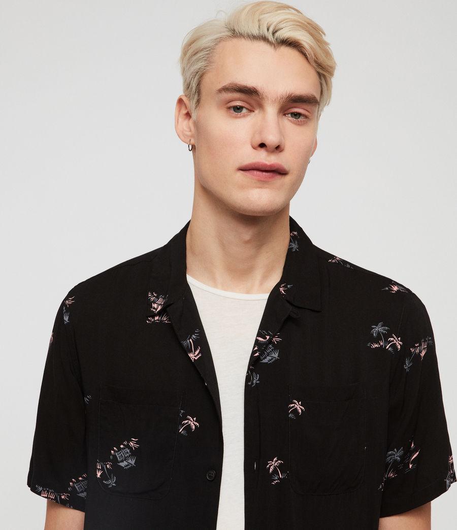 Mens Castaway Shirt (jet_black) - Image 2