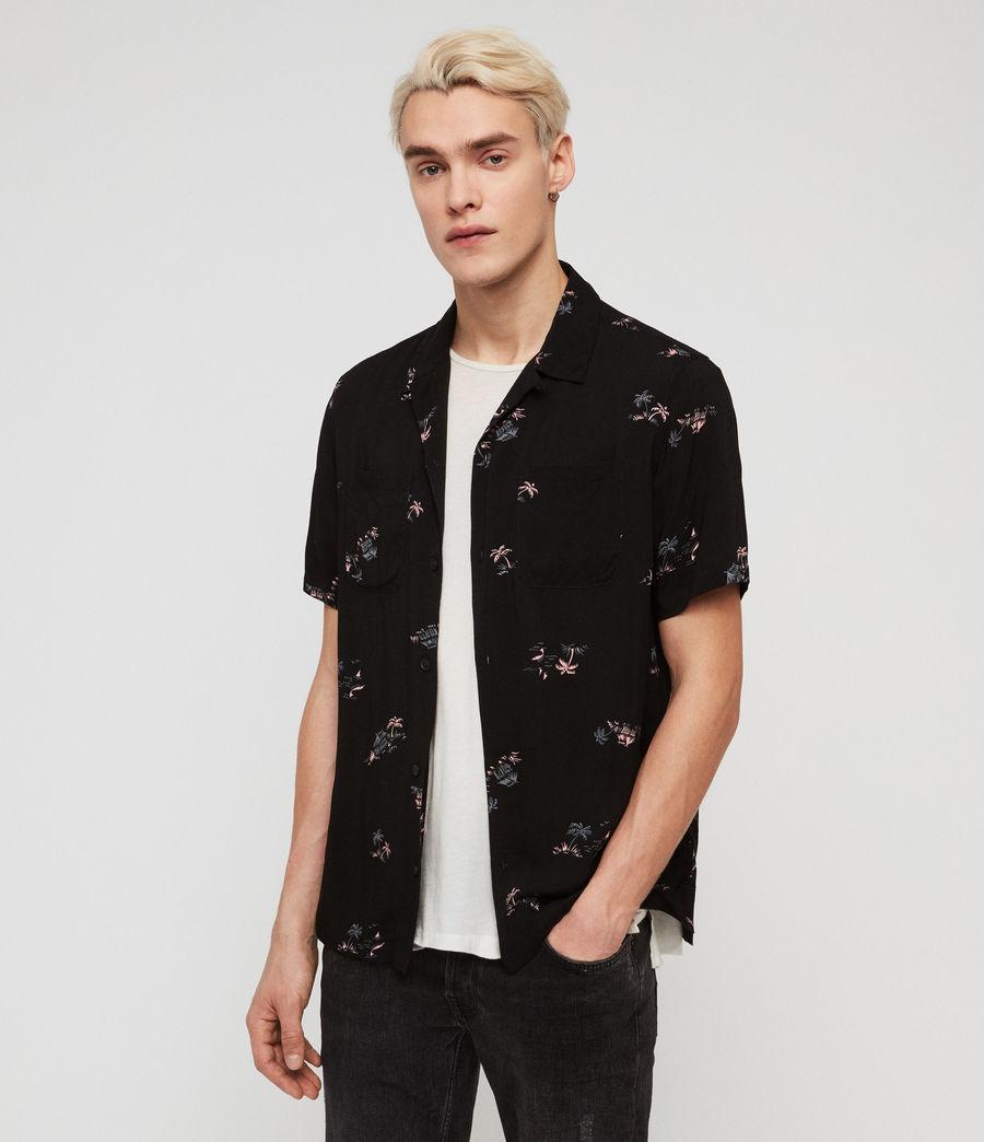 Mens Castaway Shirt (jet_black) - Image 3