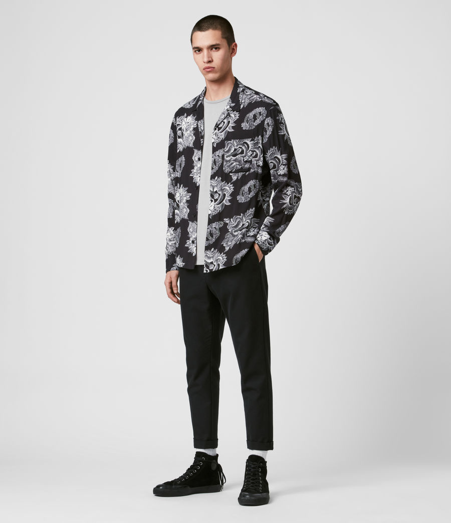 Men's Garland Shirt (black) - Image 3