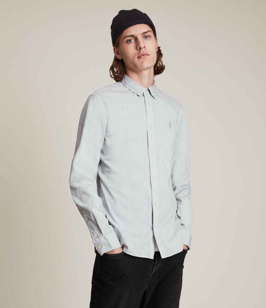 Mens Hawthorne Stretch Fit Shirt (gravel_grey) - Image 1