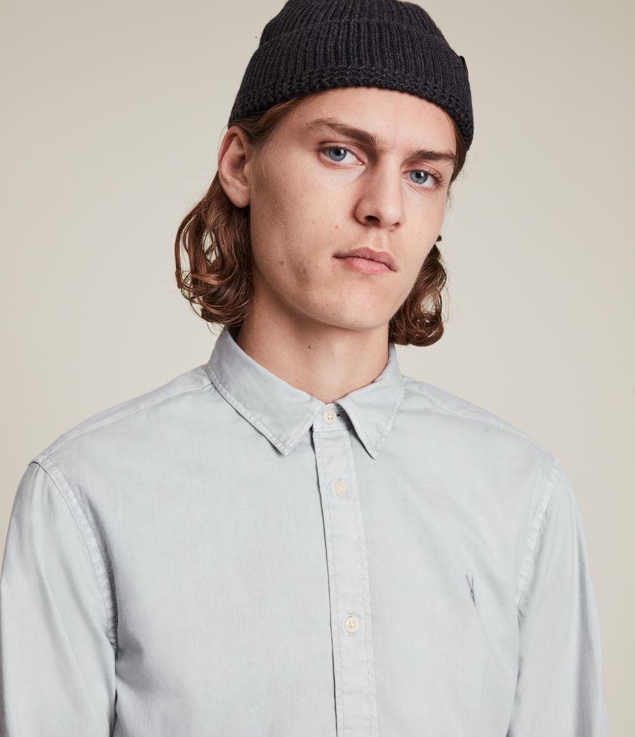 Mens Hawthorne Stretch Fit Shirt (gravel_grey) - Image 2