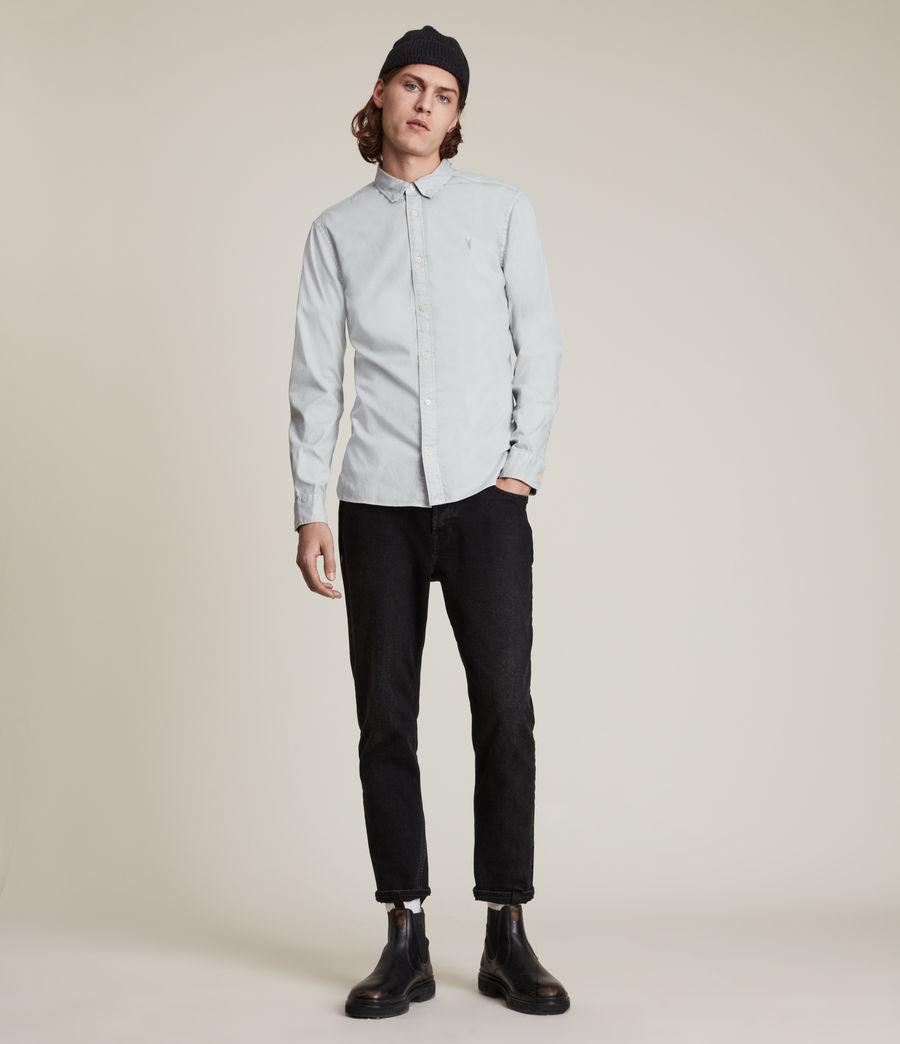 Mens Hawthorne Stretch Fit Shirt (gravel_grey) - Image 3