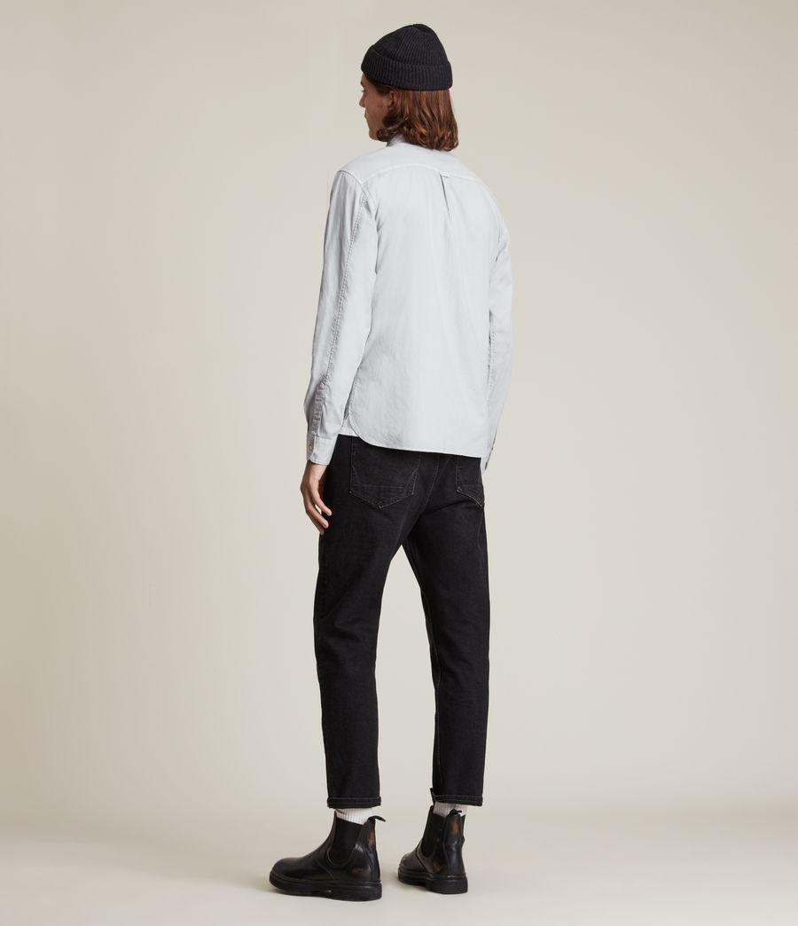 Mens Hawthorne Stretch Fit Shirt (gravel_grey) - Image 4