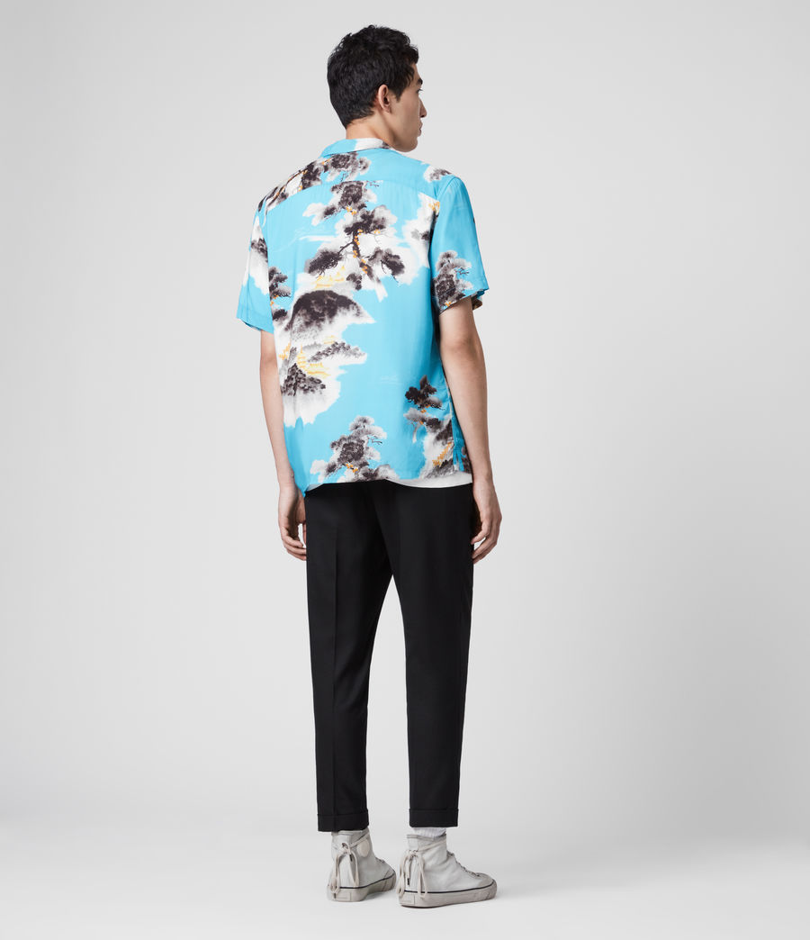 Men's Hida Shirt (hawaii_blue) - Image 5