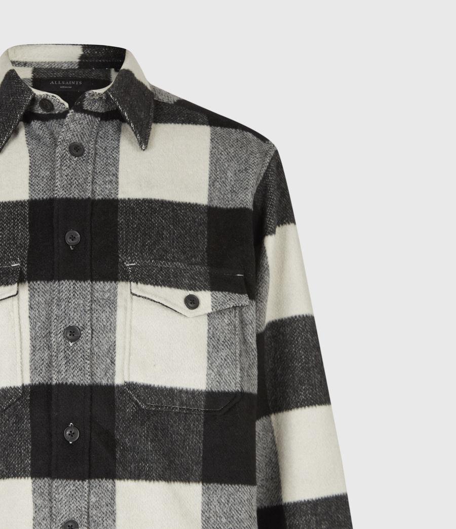 Men's Mosquero Shirt (ecru_black) - Image 5