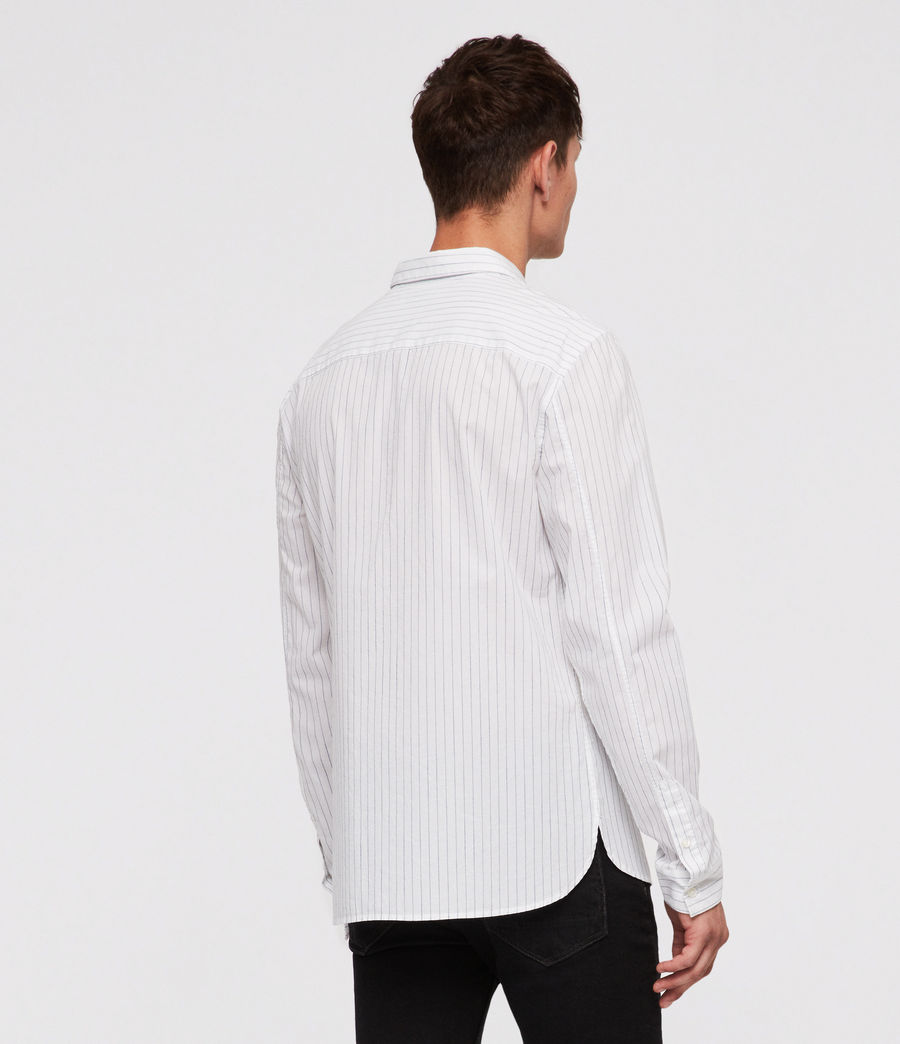 Uomo Austin Shirt (white_ink_stripe) - Image 4