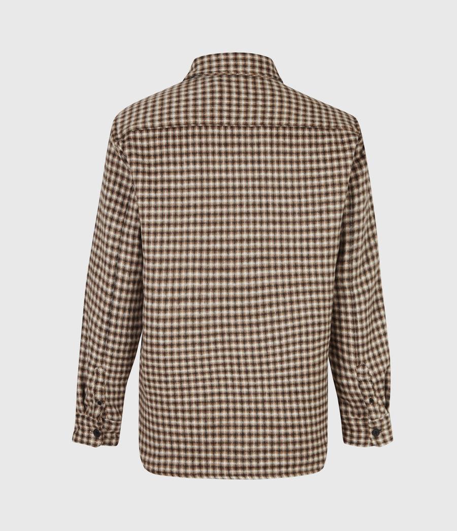Men's Tierra Shirt (ecru_brown) - Image 3
