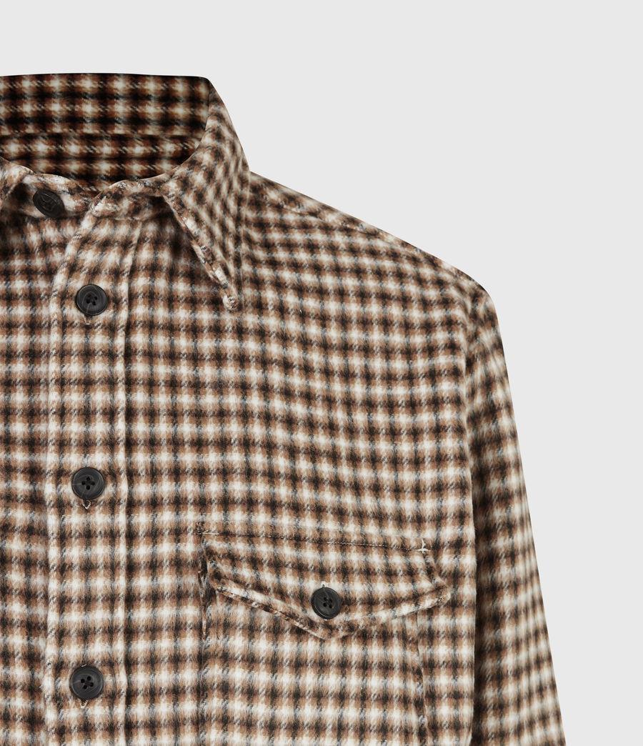 Men's Tierra Shirt (ecru_brown) - Image 5