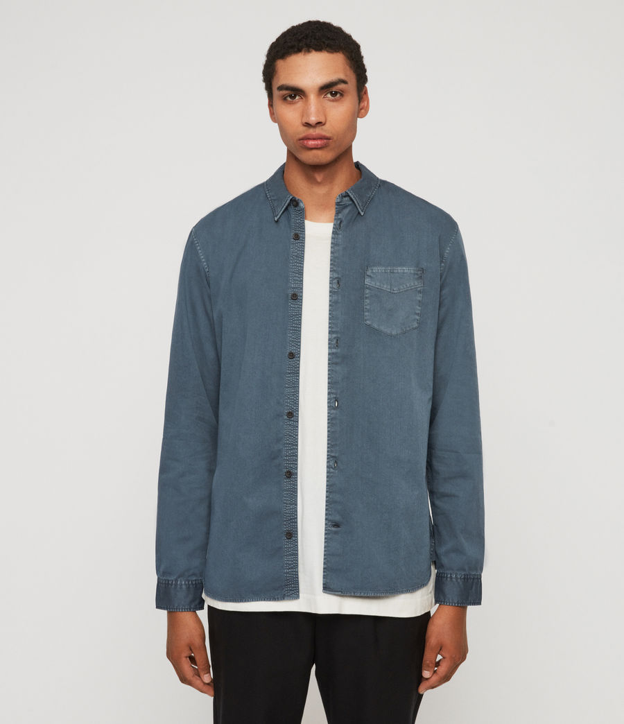 Mens Dilla Shirt (ash_blue) - Image 1