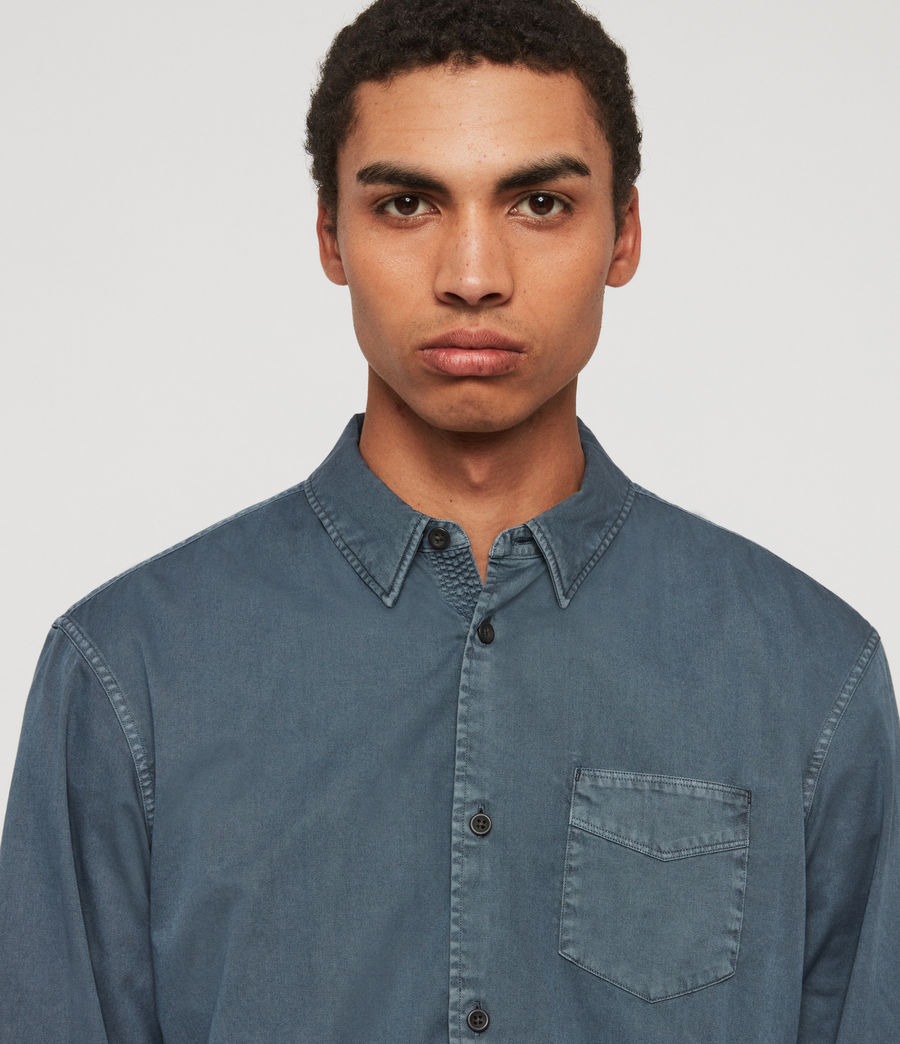 Mens Dilla Shirt (ash_blue) - Image 2