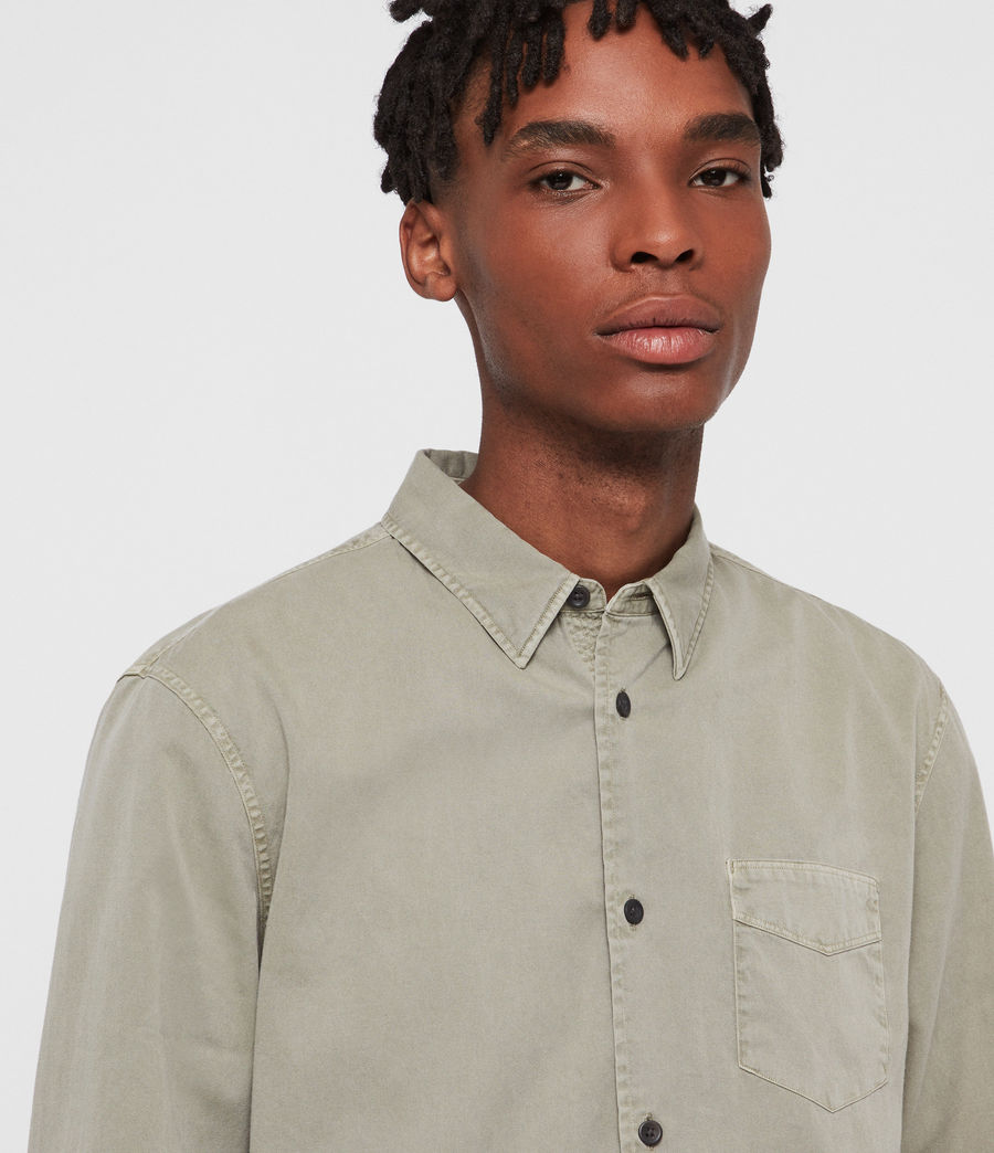 Men's Dilla Shirt (sutro_grey) - Image 2