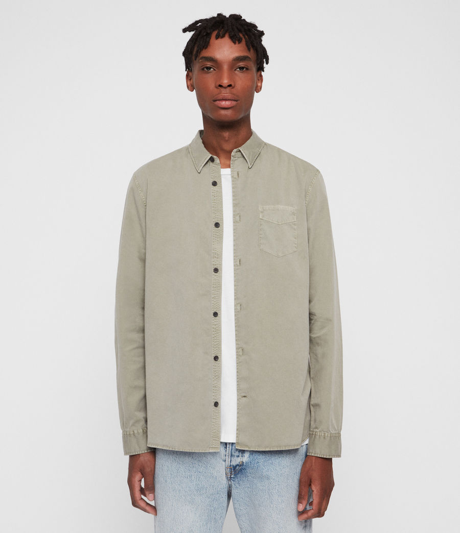Men's Dilla Shirt (sutro_grey) - Image 3