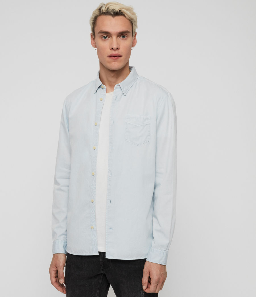 Men's Dilla Shirt (sol_blue) - Image 1