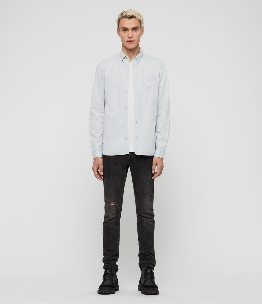 Men's Dilla Shirt (sol_blue) - Image 2