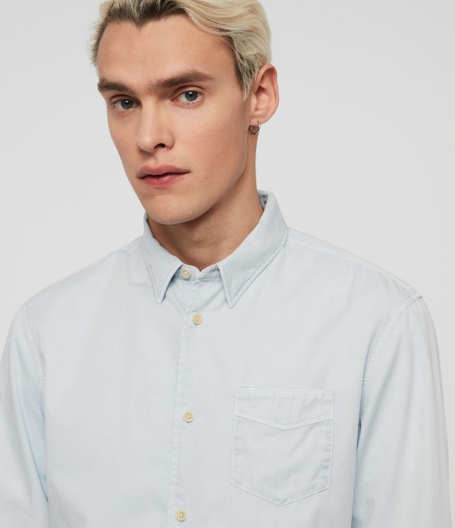 Men's Dilla Shirt (sol_blue) - Image 3