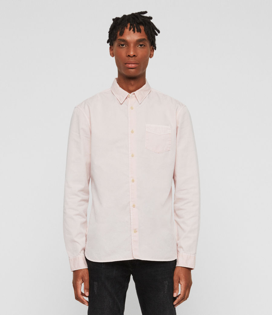 Men's Dilla Shirt (bleach_pink) - Image 1