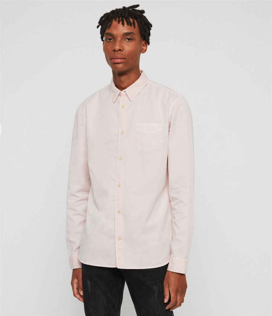 Men's Dilla Shirt (bleach_pink) - Image 2