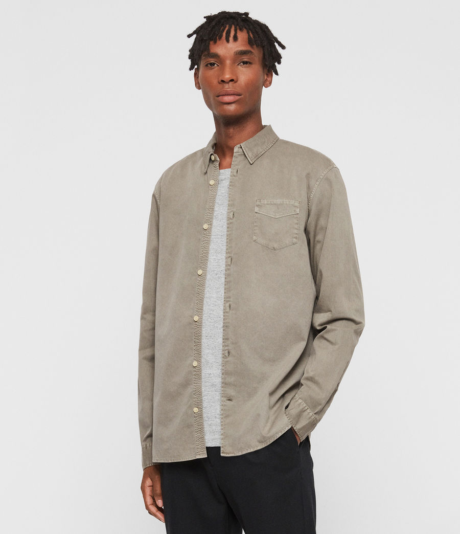 Mens Dilla Shirt (beech_green) - Image 1