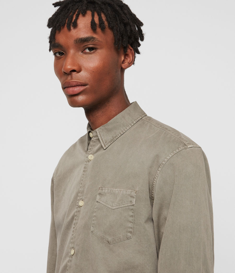 Mens Dilla Shirt (beech_green) - Image 2