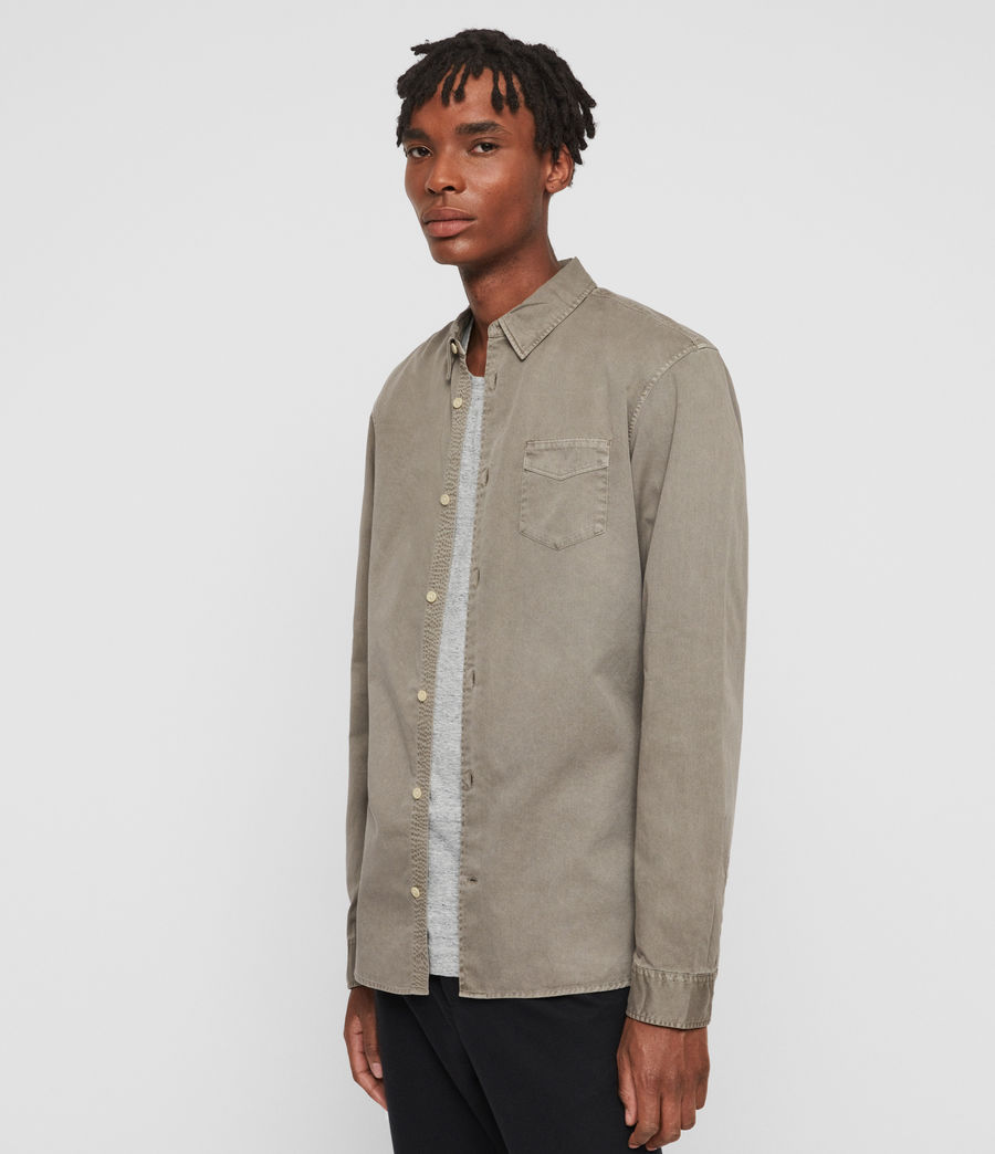 Men's Dilla Shirt (beech_green) - Image 4