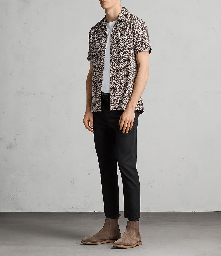 Hombre Camisa Apex (light_brown) - Image 3