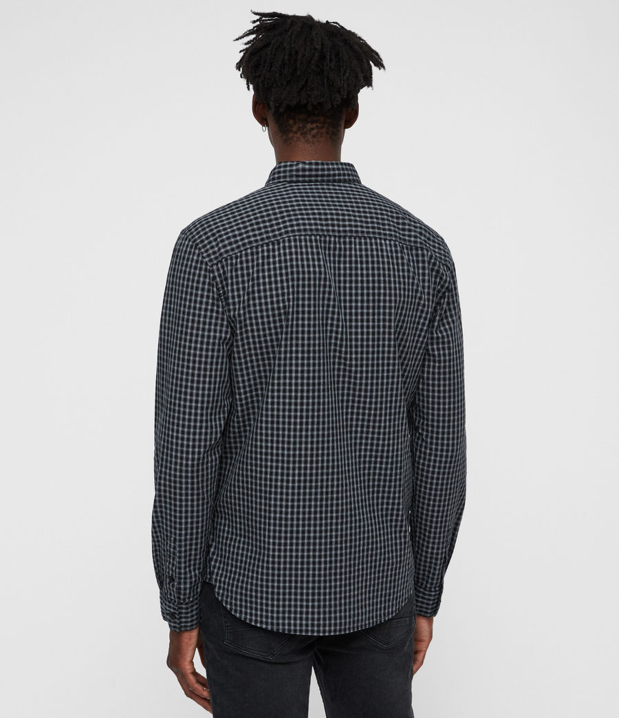 Mens Murdo Shirt (black_grey) - Image 4