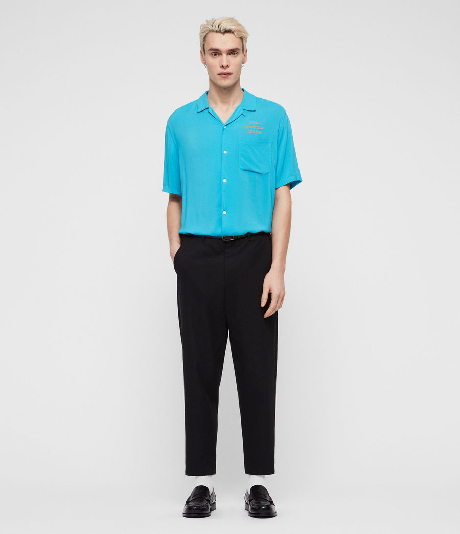 Men's Oblivion Shirt (tropicana_blue) - Image 3