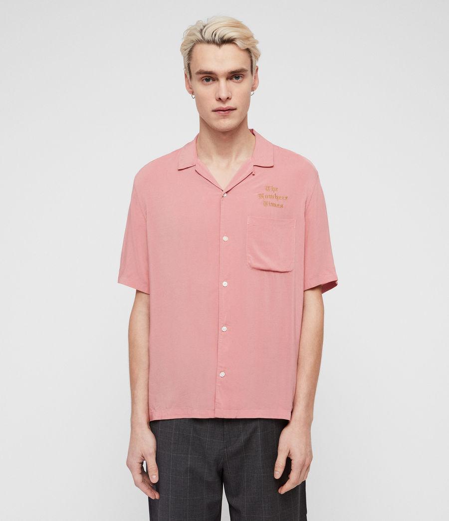 Hombre Oblivion Shirt (moth_pink) - Image 1