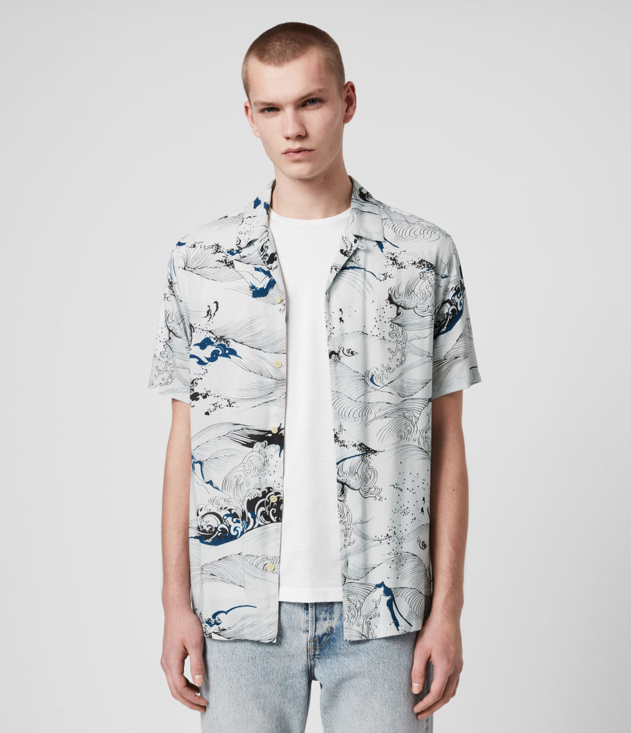 Hombre Flood Shirt (off_white) - Image 1