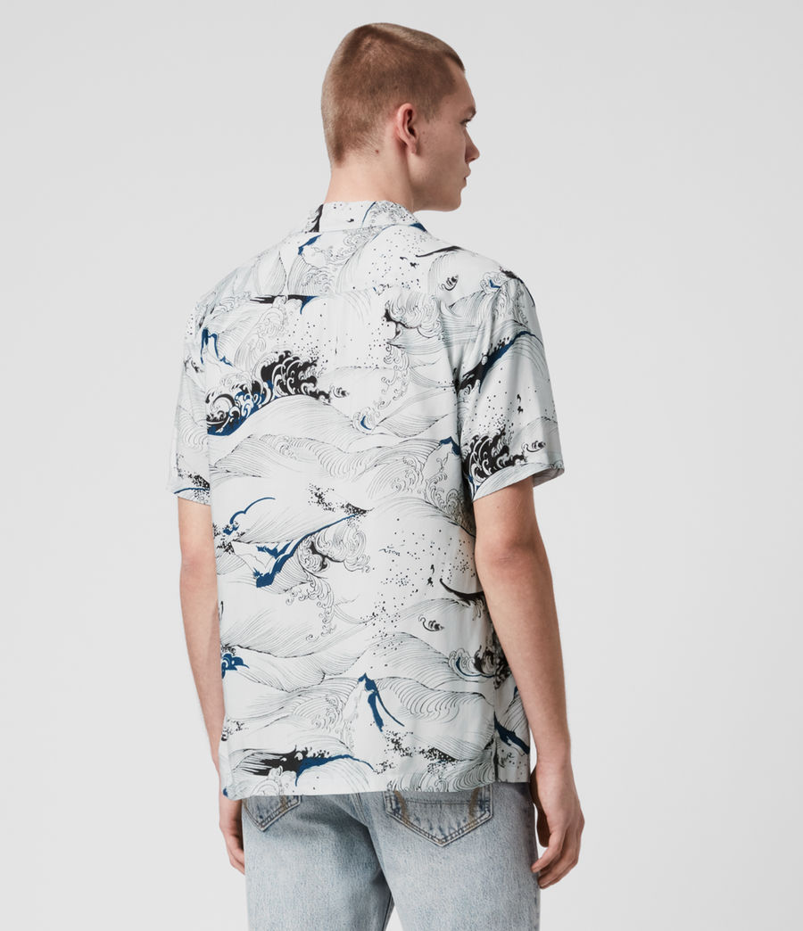Hommes Flood Shirt (chilli_red) - Image 5