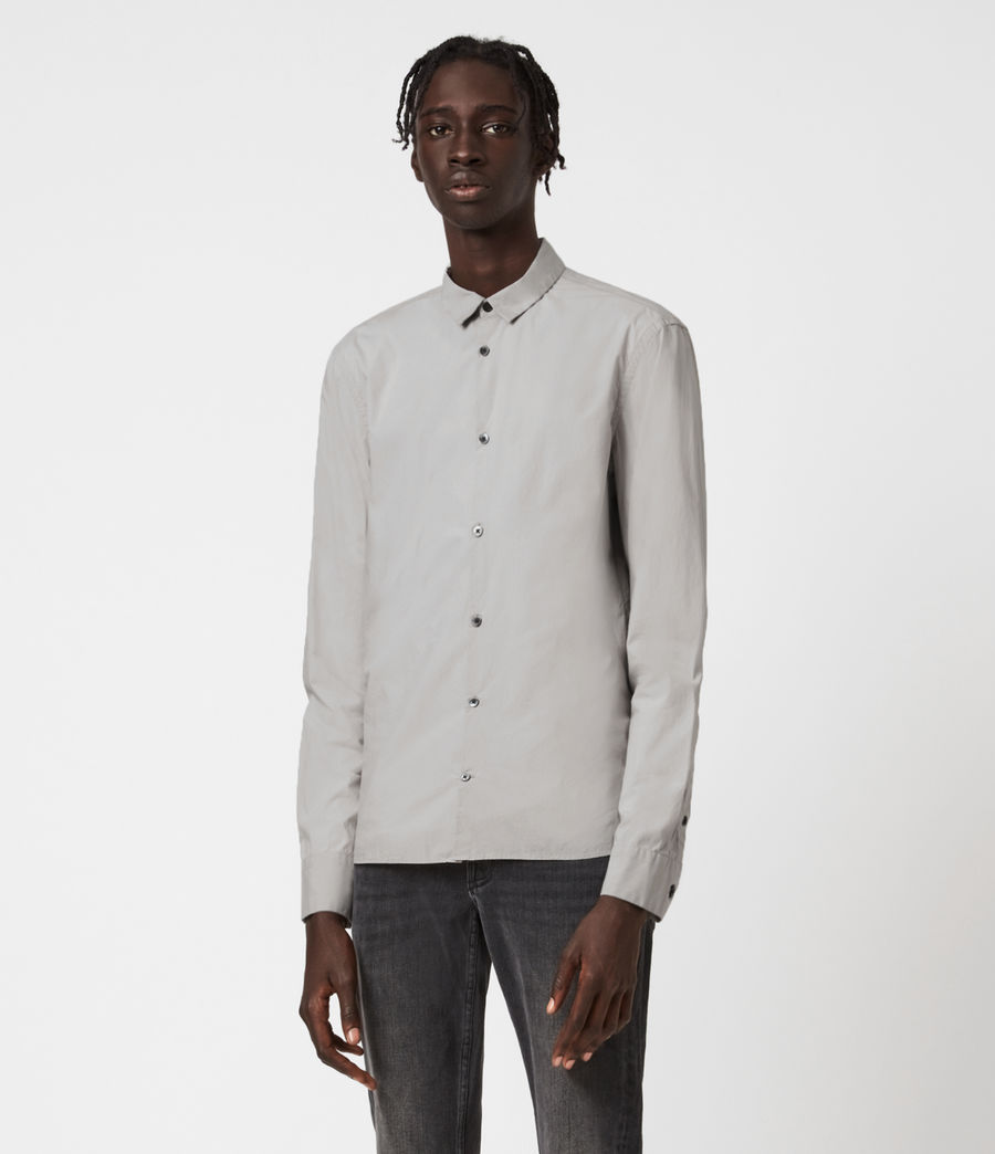 Men's Elloree Shirt (light_grey) - Image 1