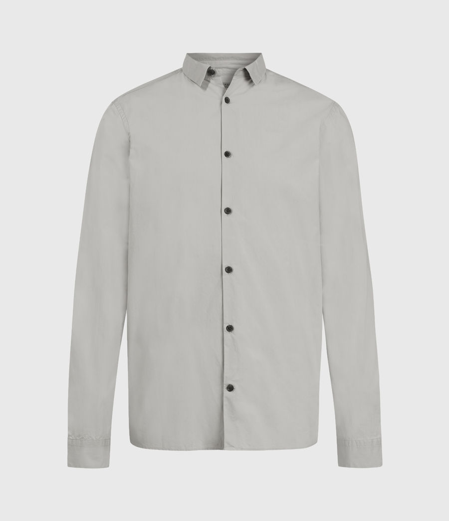 Men's Elloree Shirt (light_grey) - Image 2