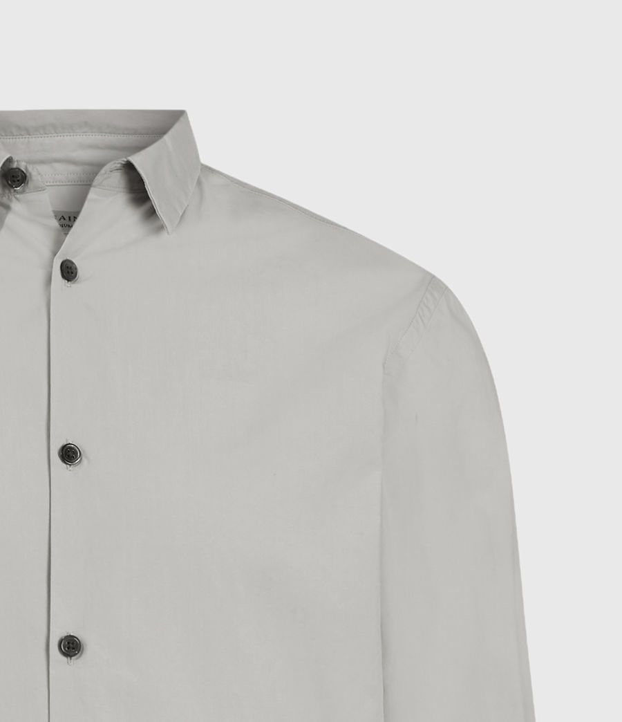 Men's Elloree Shirt (light_grey) - Image 4