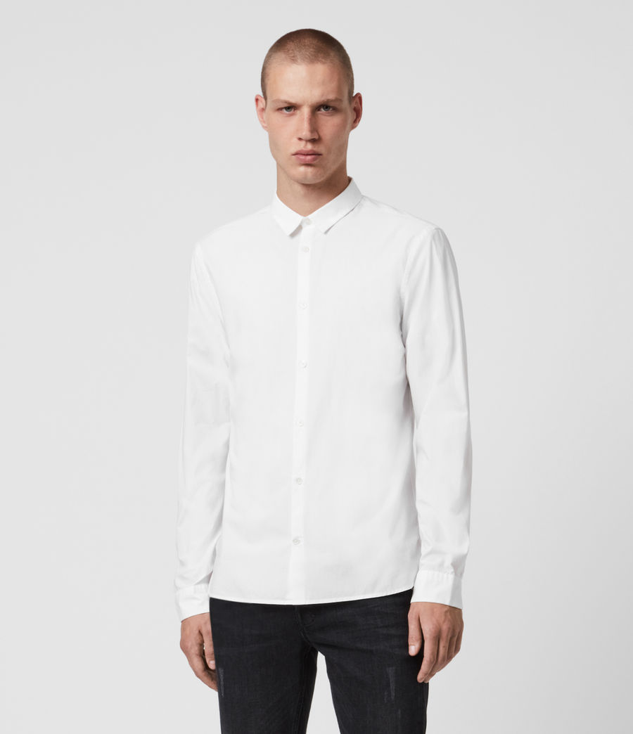 Mens Elloree Shirt (optic_white) - Image 1