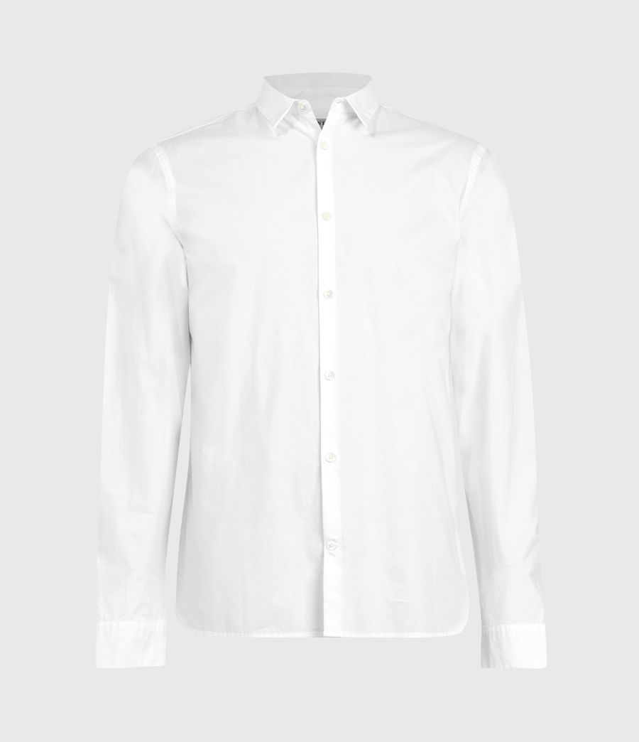Mens Elloree Shirt (optic_white) - Image 2