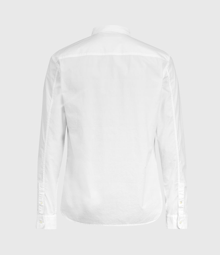 Mens Elloree Shirt (optic_white) - Image 3