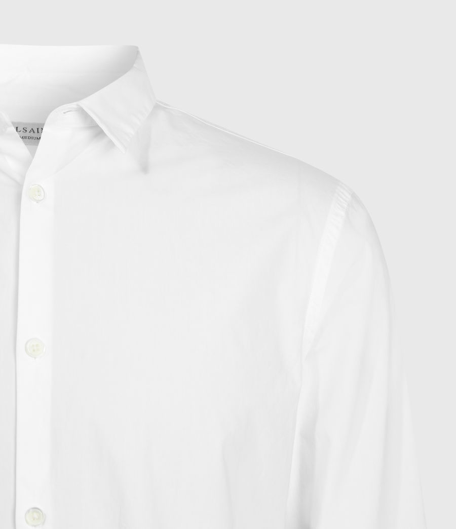 Mens Elloree Shirt (optic_white) - Image 4