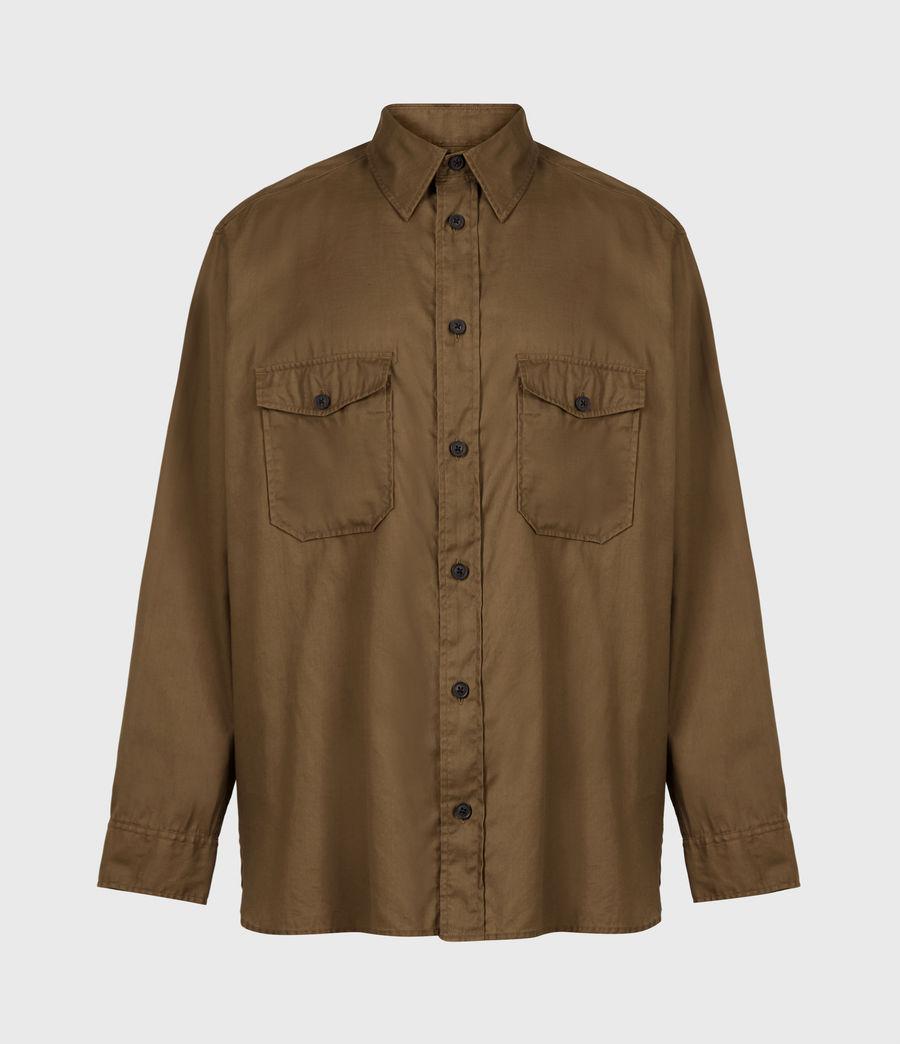 Men's Division Military Shirt (khaki_green) - Image 2