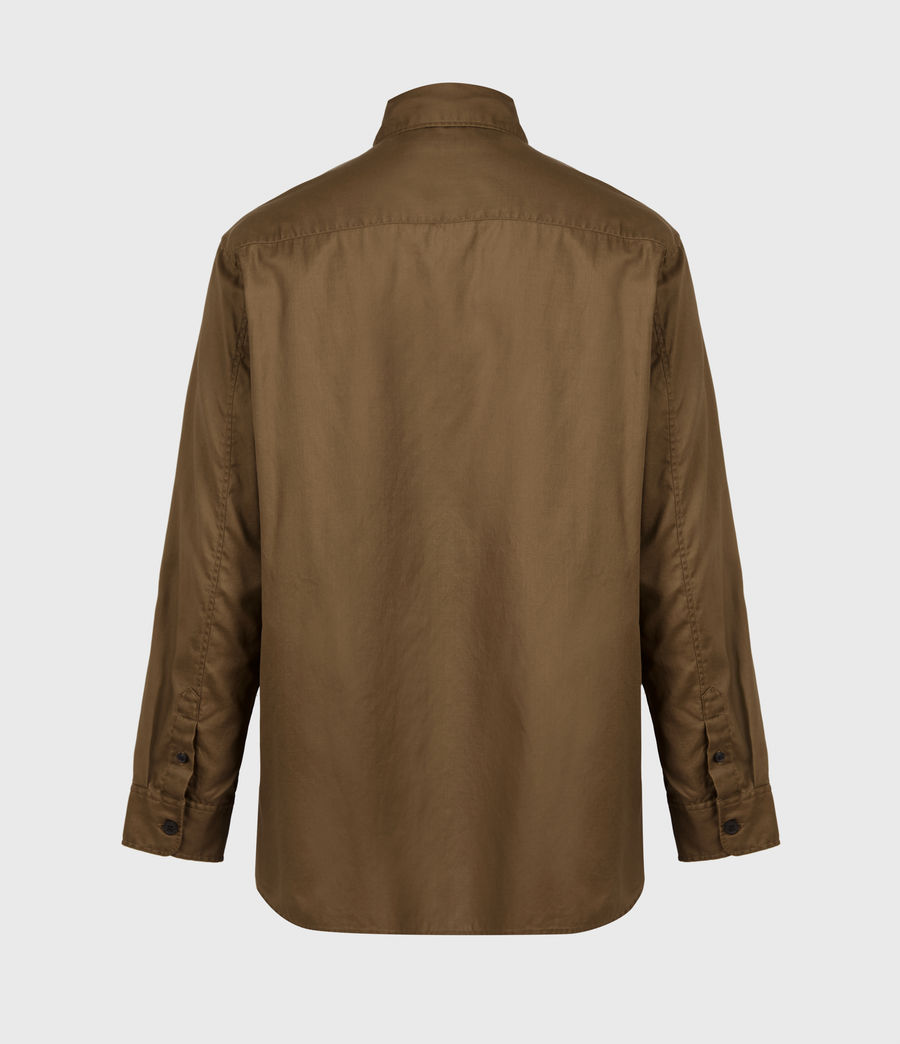 Men's Division Military Shirt (khaki_green) - Image 3