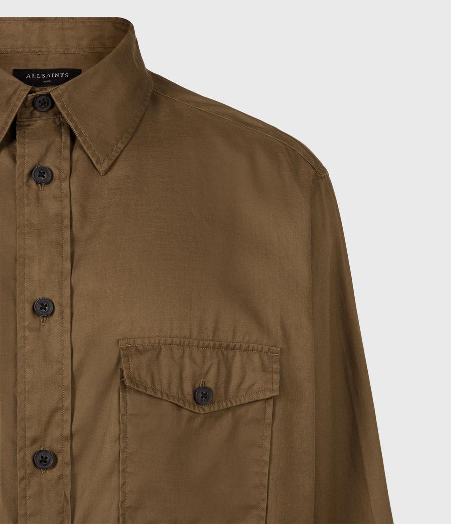 Men's Division Military Shirt (khaki_green) - Image 5