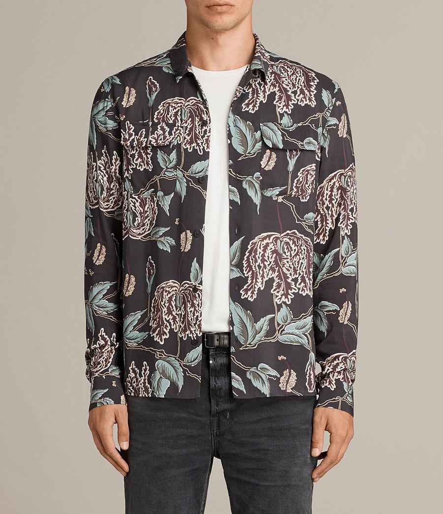 Mens Peoria Shirt (black) - Image 1