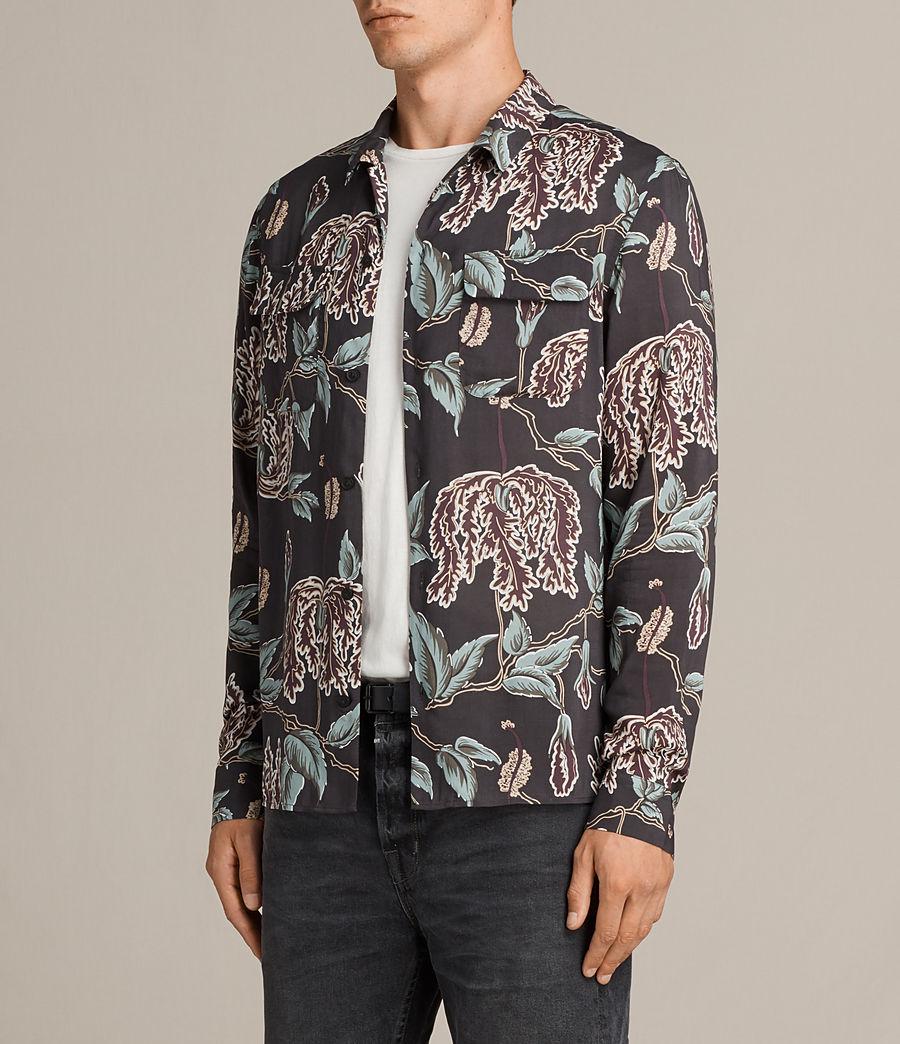 Mens Peoria Shirt (black) - Image 3