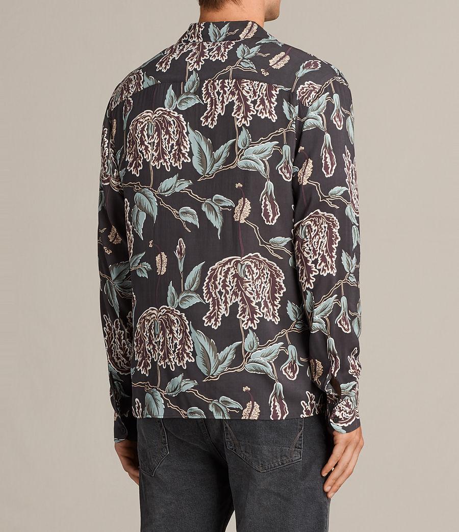 Mens Peoria Shirt (black) - Image 4