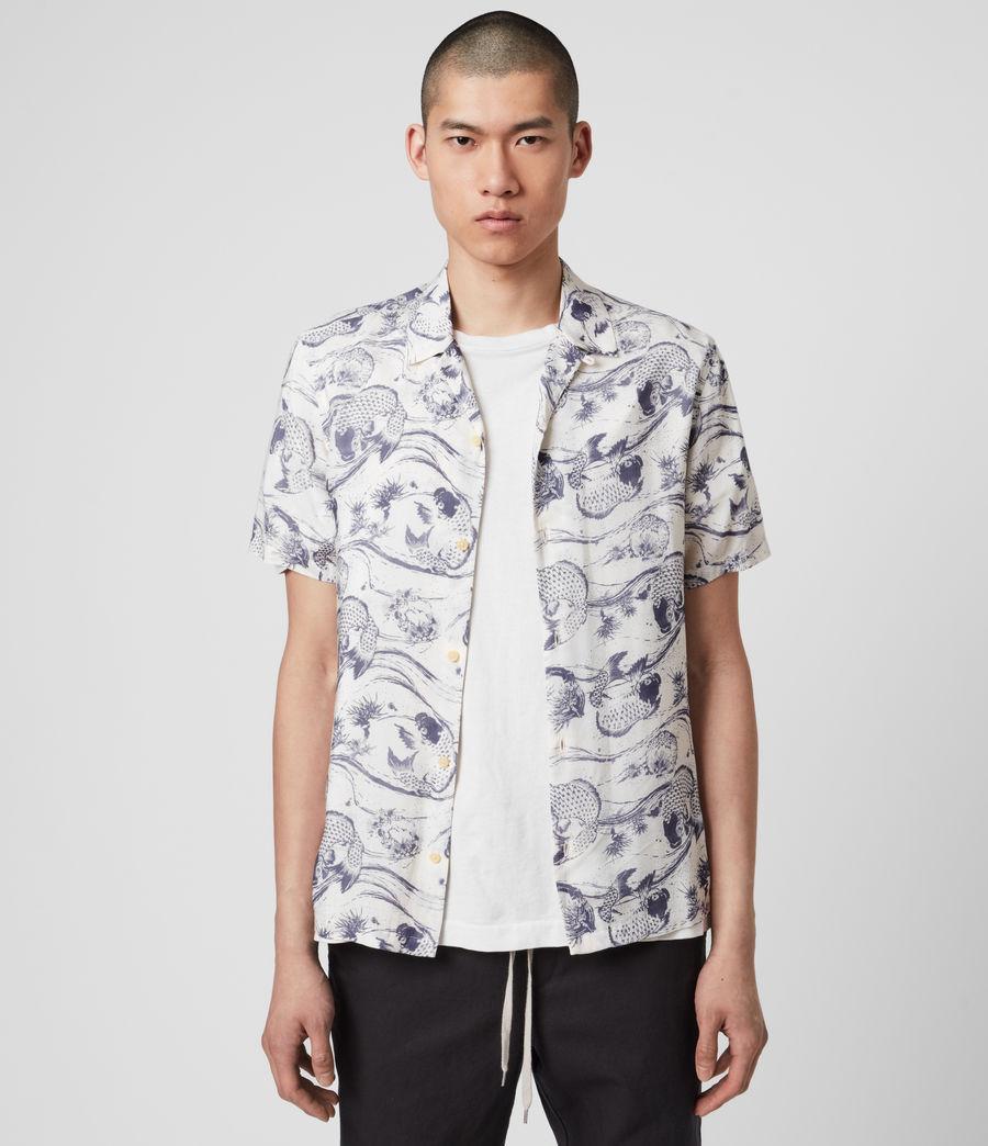 Mens Koi Shirt (ecru) - Image 2